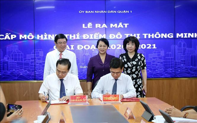Thành phố Hồ Chí Minh: Mô hình đô thị thông minh tại Quận 1 được nâng cấp với nhiều tiện ích mới