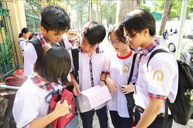 Tuyển sinh lớp 10 tại Thành phố Hồ Chí Minh: Đề thi Ngoại ngữ vừa sức với nhiều thí sinh