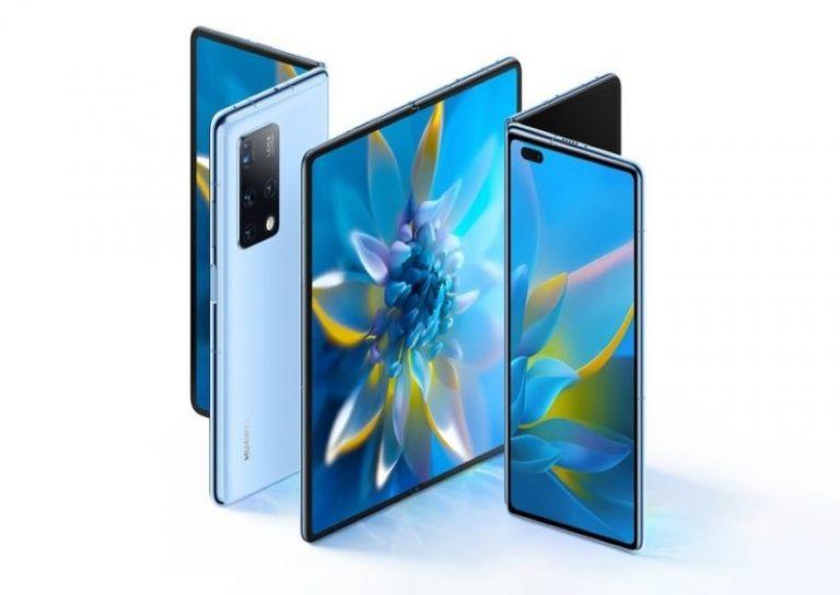 ស្មាតហ្វូន Huawei Mate X2 ត្រូវបានដាក់លក់នៅប្រទេស ចិន កាលពីចុងខែ កុម្ភៈ ឆ្នាំ ២០២១