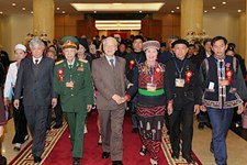 Chào mừng Đại hội Đại biểu toàn quốc các dân tộc thiểu số Việt Nam lần thứ II - năm 2020