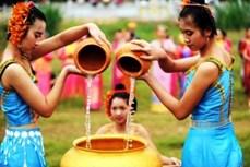 """Lễ """"vào bóng mát"""" của người con gái Khmer"""