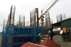 Hà Nội: Thông tin về vụ sập giàn giáo tại công trường thi công chung cư Eco Green Tower