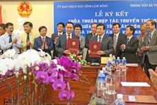 Thông tấn xã Việt Nam ký kết hợp tác truyền thông với tỉnh Lâm Đồng