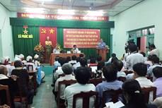 Chủ tịch Ủy ban Trung ương MTTQ Việt Nam gặp gỡ lắng nghe tâm tư, nguyện vọng đồng bào dân tộc Chăm