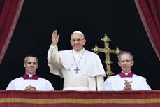 Giáo hoàng gửi thông điệp hòa bình nhân Giáng sinh 2016