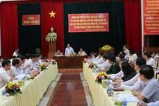 Phó Thủ tướng Nguyễn Xuân Phúc: Quyết không để nhân dân bị đói, khát, dịch bệnh