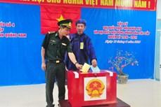 Quảng Nam tổ chức bầu cử sớm nơi biên cương, đảo xa