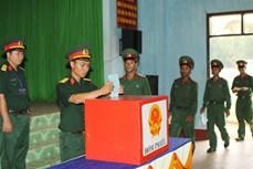 Bầu cử sớm ở Trung đoàn BB95