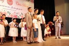 Đám cưới cổ tích đặc biệt cho bệnh nhân Thalassemia