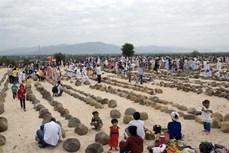 Tết Ramưval của đồng bào Chăm theo đạo Hồi giáo ở Ninh Thuận