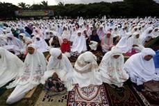 ជនអ៊ីស្លាមលើសកលលោកជាង ១,៥ ពាន់លាននាក់ទទួលអំណរបុណ្យសាសនា Eid al-Adha