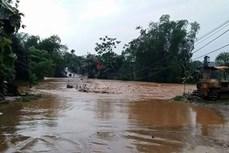Hàng nghìn hộ dân 5 xã phía đông huyện Mang Yang, Gia Lai bị cô lập do mưa lớn