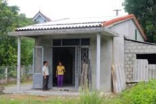Thừa Thiên-Huế: Hỗ trợ xây nhà tránh bão cho hộ nghèo