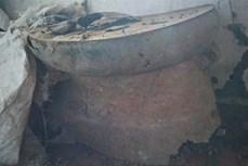 Phát hiện trống đồng cổ tại Di sản thế giới Thành Nhà Hồ