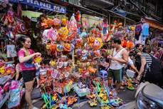 Dạo quanh phố đồ chơi Trung Thu ở Hà Nội
