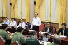 陈大光:努力保证2017年APEC领导人会议周期间绝不出现任何差错