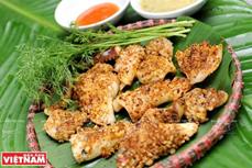 越南美食:香茅辣椒烤鱿鱼
