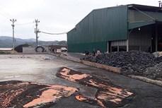 Báo động tình trạng ô nhiễm nguồn nước thải do sơ chế cà phê ở Sơn La
