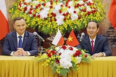 越南与波兰发表联合声明加强传统友好合作关系