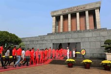 胡志明主席陵明天恢复对外开放