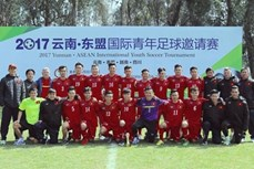 2017年云南-东盟国际青年足球邀请赛:越南U18队获首胜