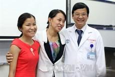 Ca ghép thận chéo trên người sống lần đầu tiên thành công tại Việt Nam