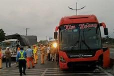Tai nạn giao thông trên đường cao tốc Thành phố Hồ Chí Minh - Trung Lương, 3 người thương vong