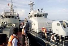越柬海军年度海上联合军事演习圆满结束