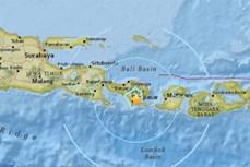 印尼巴厘岛发生6.4级地震造成多人受伤