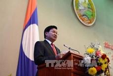 老挝总理通伦·西苏里呼吁改善投资环境