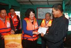 Phó Chủ tịch nước Đặng Thị Ngọc Thịnh thăm, làm việc tại Hải Phòng