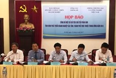 2000—2015年阶段越南企业发展状况评价指标出炉