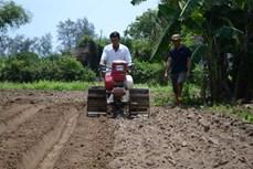 Lão ngư Huỳnh Tiển đam mê chế tạo máy nông nghiệp