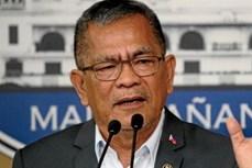 菲律宾:杜特尔特解除涉腐内政部长职务