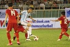 越阿友谊足球赛:越南U20足球队1比4败于阿根廷U20足球队