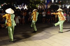 街头艺术活动成为胡志明市文化旅游新亮点