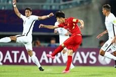 越南U20足球队给东南亚足球留下脚印
