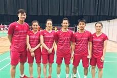 2017年世界羽联苏迪曼杯:越南击败苏格兰