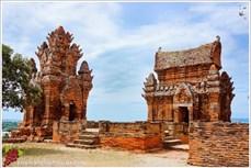 越南独特的占塔