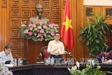 Phó Thủ tướng Vũ Đức Đam làm việc với các bộ, ngành về Quy hoạch tổng thể phát triển khu du lịch quốc gia Sơn Trà