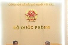 国防部副部长阮志咏会见中国和捷克驻越大使