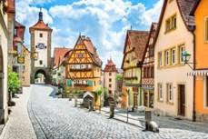 """""""Chết lặng"""" trước cảnh sắc những thị trấn đẹp như cổ tích ở Đức"""