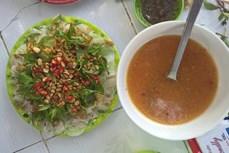 """Gỏi cá mai - món ăn """"ngon lạ"""" tại Phan Thiết"""