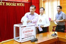越南各中央机关纷纷捐款帮助西北地区洪水受灾群众
