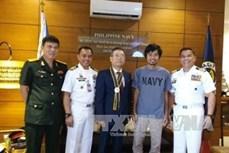 越南驻菲律宾大使馆完成必要手续 将获救船员送返回国