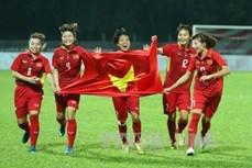 第29届东南亚运动会:越南女足队以6-0击败马来西亚女足队夺得金牌
