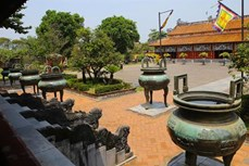Cửu đỉnh - Công trình nghệ thuật giá trị trong Hoàng Thành Huế