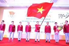 第29届东南亚运动会越南体育代表团出征仪式在河内隆重举行