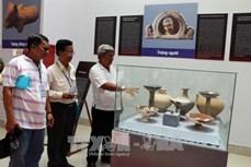 Triển lãm gốm Óc Eo - nghệ thuật đặc sắc Phù Nam