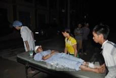 Yên Bái: Sạt lở đất làm 2 người chết, 7 người bị thương